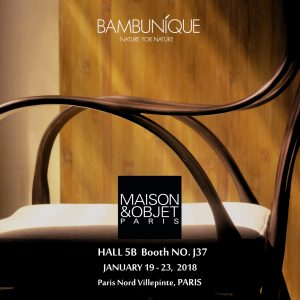bambunique maison et objet 2018 conceptsiam. Black Bedroom Furniture Sets. Home Design Ideas